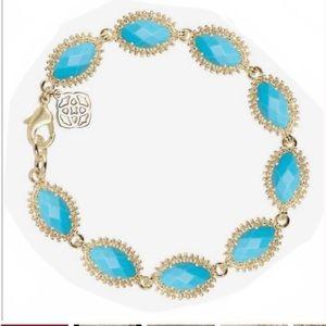 Kendra Scott Jana Bracelet in Gold with Turquoise